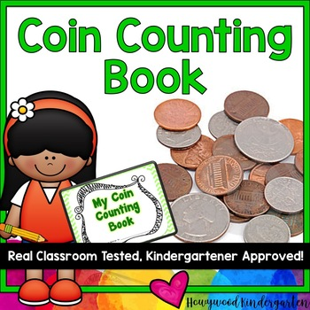 Coin Counting Book!  Perfect for teaching about money!