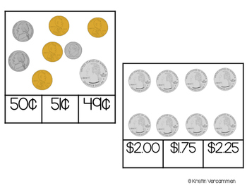 Coin Counting Cards