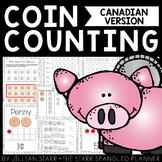 Money Math Centers (Canadian Version)