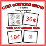 Coin Counting Game -  Money Math Center