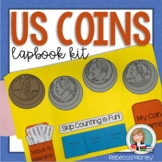 Coin Counting Lapbook Kit