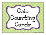 Coin Counting Matching Cards (Money)