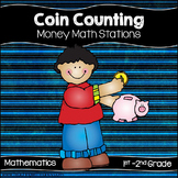 Coin Counting Math Center Activities