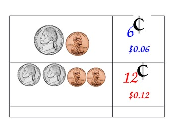 Coin Counting Memory Game