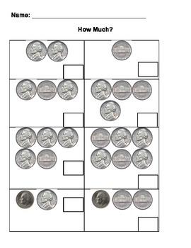 Coin Counting (Nickels)