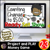 Google Classroom Distance Learning Math | Counting Money Game