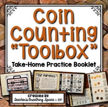 U.S. Coin Counting Toolbox --- Take-Home Coin Counting Practice Booklet