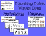 Coin Counting Visual Cue for Autism, Special Education, or Early Elementary Ed
