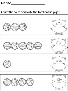 Coin Counting - nickels