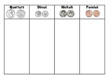 Coin Differentiated Sorting Mats