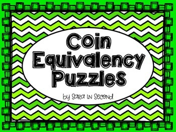 Coin Equivalency Puzzles