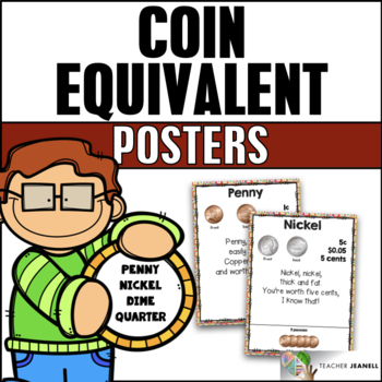 Coin Equivalent Posters