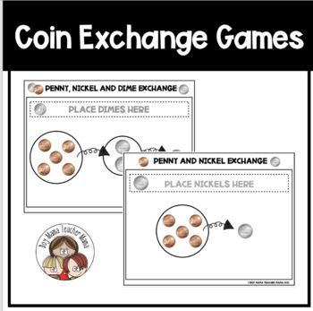 Coin Exchange Games: Practice Exchanging Pennies, Nickels