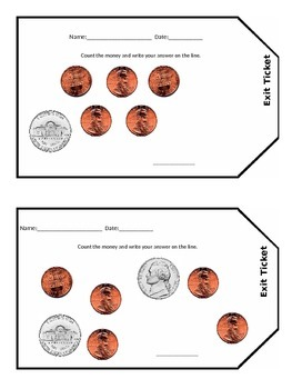 Coin Exit Tickets