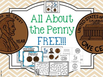 Coin: FREE PENNY Activities, Posters, Emergent Readers, and MORE!
