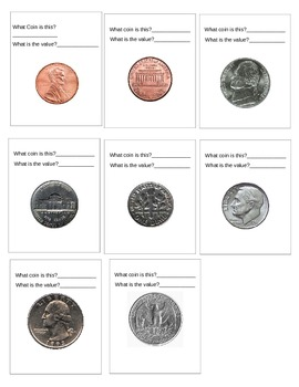 Coin Flash Cards