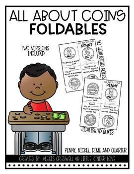 Coin Foldable Easy Readers