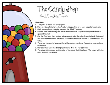 Coin Game -- Candy Shop