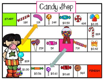 Coin Game -- Candy Shop