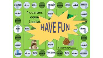 Coin Games Math Money Bundle