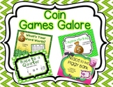 Coin Games: Pennies, Nickels, Dimes, and Quarters