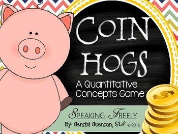 Coin Hogs: A Quantitative Concepts Game for Speech Therapy