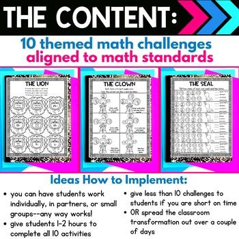 Coin Identification | 1st Grade Circus Classroom Transformation