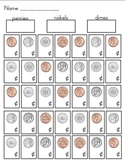 Coin Identification Activities