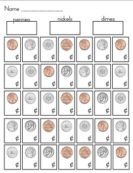 coin identification activities by teacher 39 s file cabinet tpt. Black Bedroom Furniture Sets. Home Design Ideas