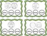 Coin Identification & Counting Clothespin Task Cards