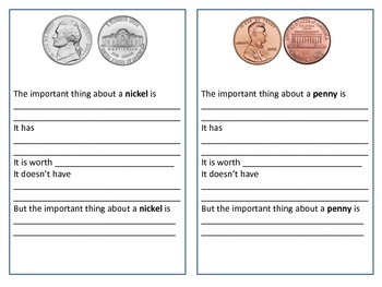 Coin Identification Activity
