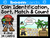 Coin Identification, Sorting, Matching & Counting   Pirate