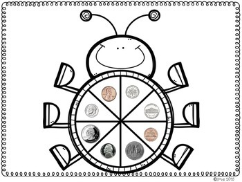 Coin Identification Spinner Game