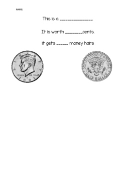 Coin Identification and Money Hair Practice