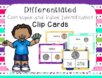 Coin Identification and Value Match Freebie