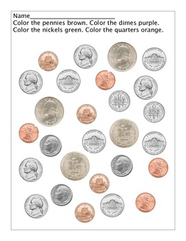 Coin Identification (through colors)