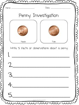Coin Investigation Posters and Printables