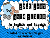Coin Jars Math Center BILINGUAL