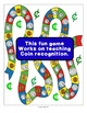 Coin March Coin Recognition Game, 2 Ways to Play In Color and Black and White