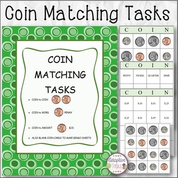 MATH Coin Matching Tasks
