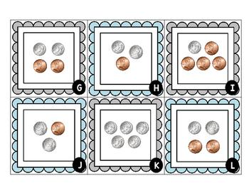 Coin Math Freebie!