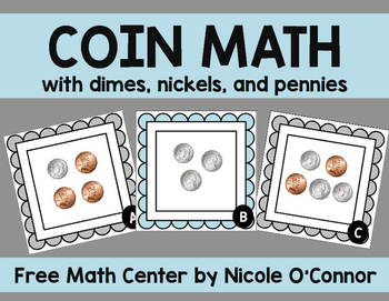 Coin Math Freebie!