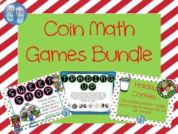 Coin Math Games Bundle