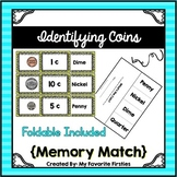Coin Memory Match - Recognizing and Identifying Coins