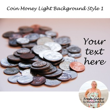Coin Money Light Background Style 1