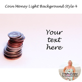 Coin Money Light Background Style 4