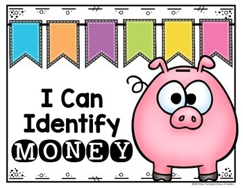 Coin {Money} Posters for Kindergarten and First Grade Math