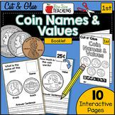 First Grade Money Cut N' Glue Booklet!