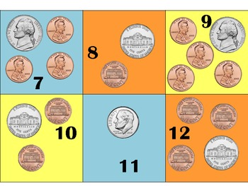 Coin Pattern- Plus 3 Minus 2