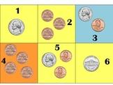 Coin Pattern- Plus 3 Minus 2